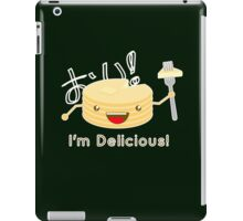 Pancakes are delicious! (brighter colors) iPad Case/Skin