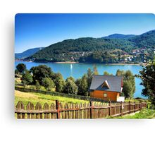 Summer on the lake Canvas Print