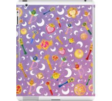 Sailor Moon Transformation Item pattern iPad Case/Skin