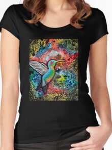 Neon Hummer Women's Fitted Scoop T-Shirt