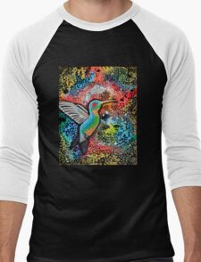 Neon Hummer Men's Baseball ¾ T-Shirt