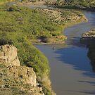 Fording the Rio Grande by Tamas Bakos
