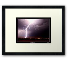 Almighty Power Framed Print