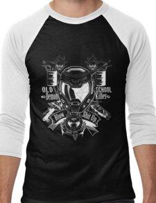 DOOM OLD SCHOOL DEMON KILLER Men's Baseball ¾ T-Shirt