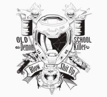 DOOM OLD SCHOOL DEMON KILLER V2 by makuzoku