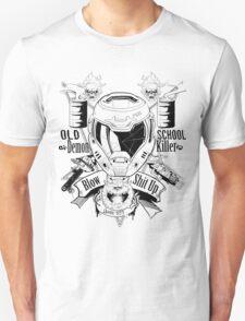 DOOM OLD SCHOOL DEMON KILLER V2 T-Shirt