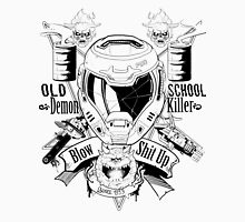 DOOM OLD SCHOOL DEMON KILLER V2 Unisex T-Shirt