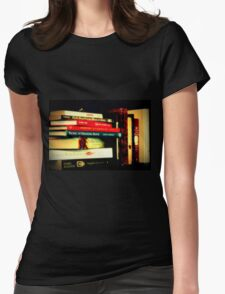 Books... And More Books.. Womens Fitted T-Shirt