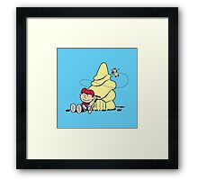 It's an Adventure, Ninten Brown! Framed Print