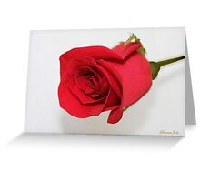 Let Me Call You Sweetheart ~ A Rose Greeting Card