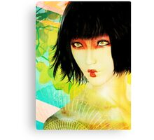 Maiko in Spring Canvas Print