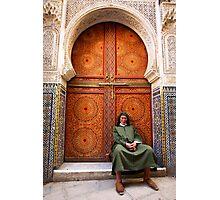 Zaouia Moulay Ahmed Tijani door Photographic Print