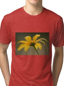 droplets on mexican sunflower Tri-blend T-Shirt