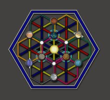 CREST OF THE SOLAR SYSTEM by CerebralHack