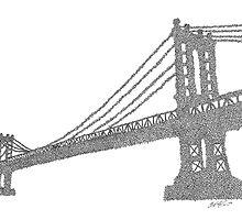 Manhattan Bridge by Eric  Mahoney