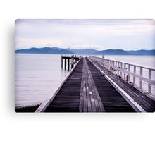 South Molle Island Jetty Canvas Print