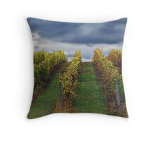 Grapevines in Traverse City Throw Pillow