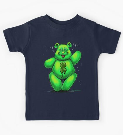 St. Patrick's Day Bear Kids Clothes