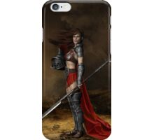 Bellona, Roman Goddess of War iPhone Case/Skin