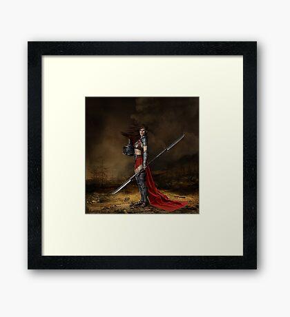 Bellona, Roman Goddess of War Framed Print