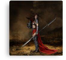 Bellona, Roman Goddess of War Canvas Print