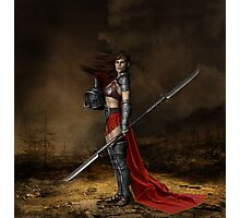 Bellona, Roman Goddess of War Photographic Print