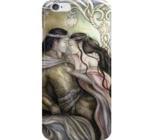 King and his queen iPhone Case/Skin