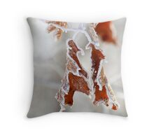 Ice Coat Throw Pillow