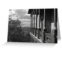 Hudson River Autumn Greeting Card