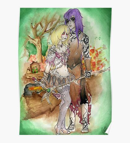 Medieval Dark Magicians Poster