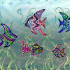 Fish Tank - Card by MelDavies
