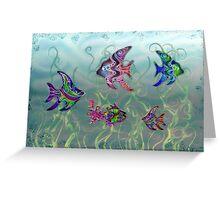 Fish Tank - Card Greeting Card