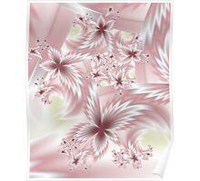 Silk Flowers Poster