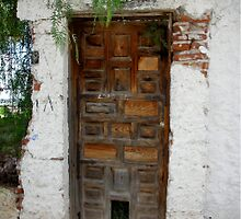 Door to the past--San Miguel de Allende by Janean  Gieseler