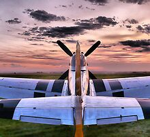 Air Show Serenity at Sunset by Michael Phillips