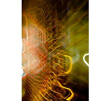 Electric Web Photographic Print