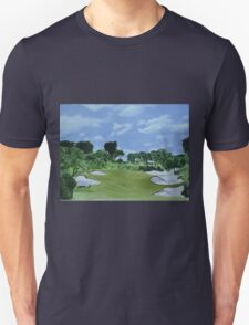 Golf Hole Royal Melbourne T-Shirt
