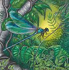 """""""Dragonfly Dreaming"""" by Jules Summers"""
