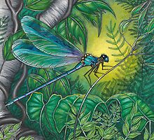 """Dragonfly Dreaming"" by Jules Summers"