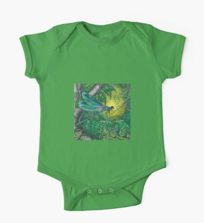 """""""Dragonfly Dreaming"""" One Piece - Short Sleeve"""