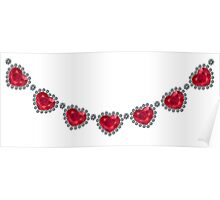 Pretty Woman Ruby Necklace Poster