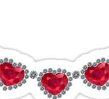 Pretty Woman Ruby Necklace Sticker