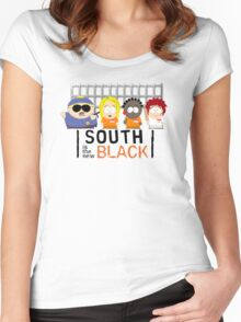 New South Women's Fitted Scoop T-Shirt