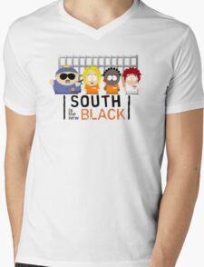 New South Mens V-Neck T-Shirt