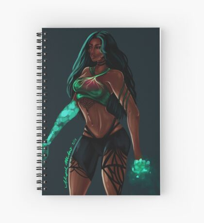 Toxin Spiral Notebook
