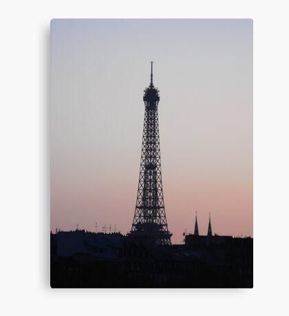 Eiffel Tower, Paris, France. Canvas Print