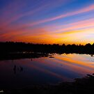 Pinstriped sunset by MarianBendeth