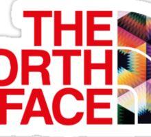 North Face Crochet Color Wheel BB Tee Sticker