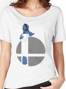 Mega Man, Hard Knuckle - Sunset Shores Women's Relaxed Fit T-Shirt