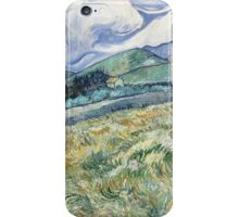 Vincent Van Gogh landscapes from Saint-Remy iPhone Case/Skin